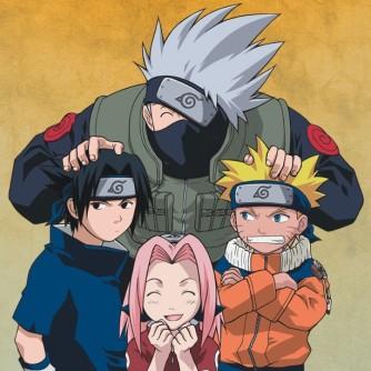 Naruto et son équipe