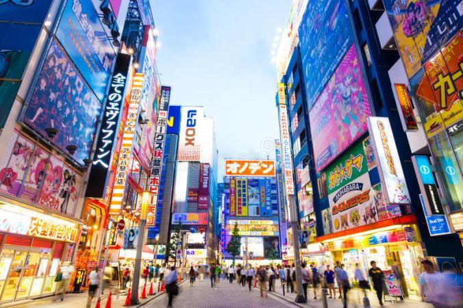 photos rue japon ecrans